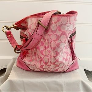 COACH - Tie Dye Shoulder Tote - style number 2183